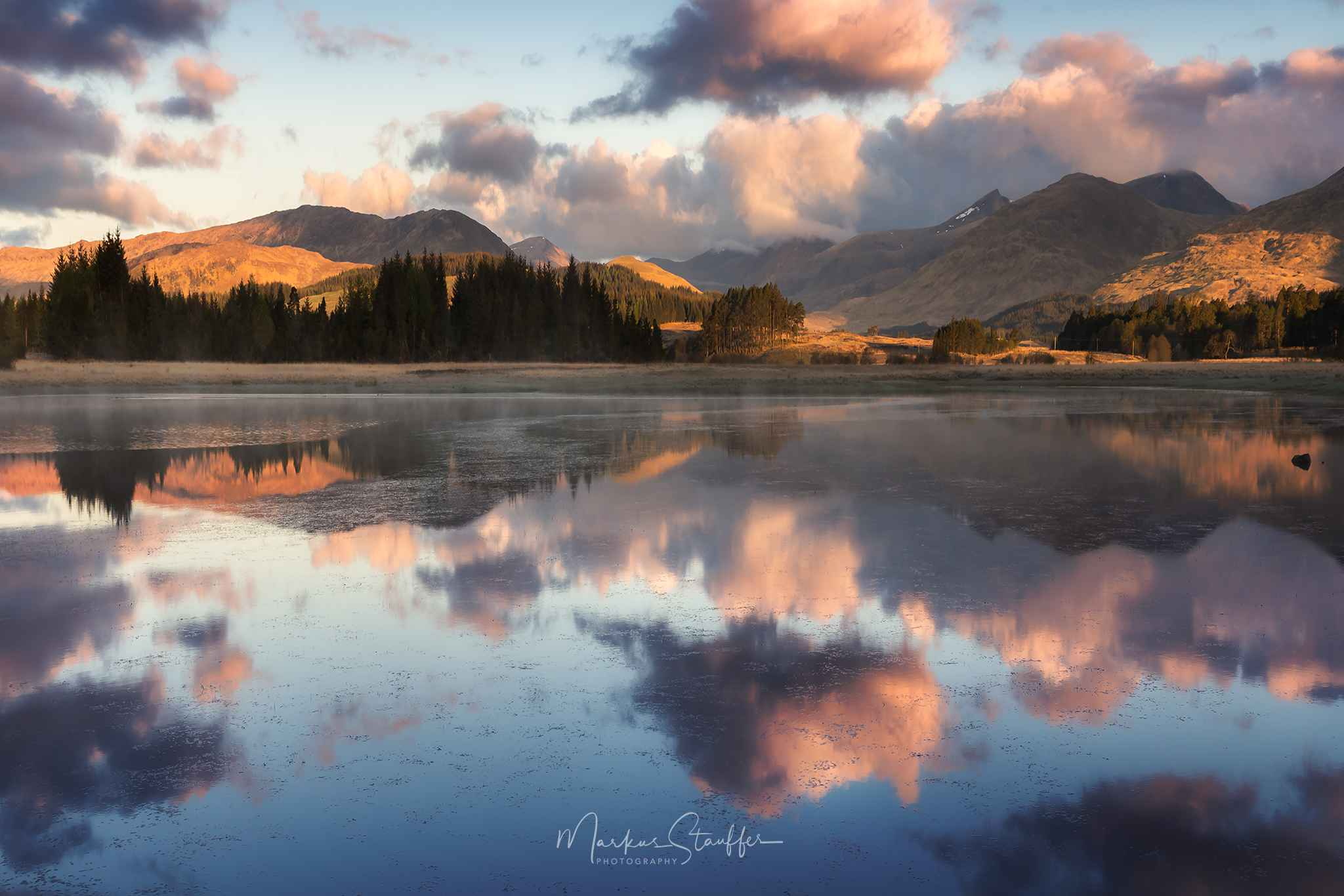 Bridge of Orchy, Sunrise