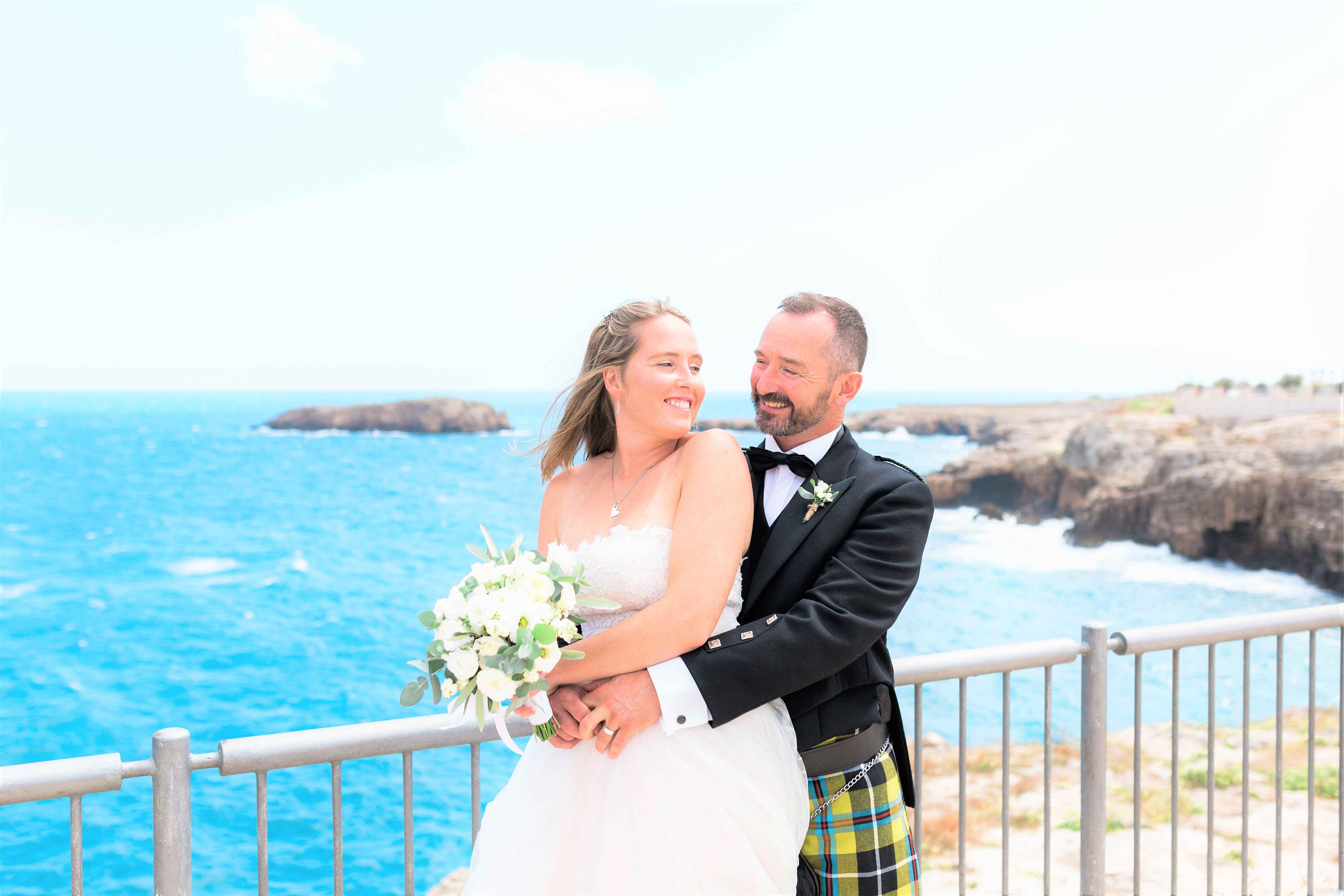 seaside wedding in puglia
