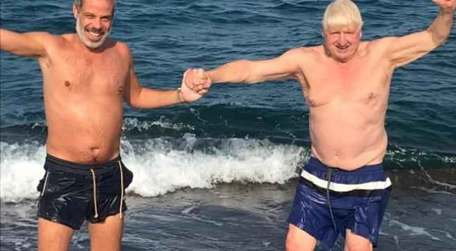 """Johnson's father bewitched by Puglia: """"I will tell my son Boris to come here to relax"""""""