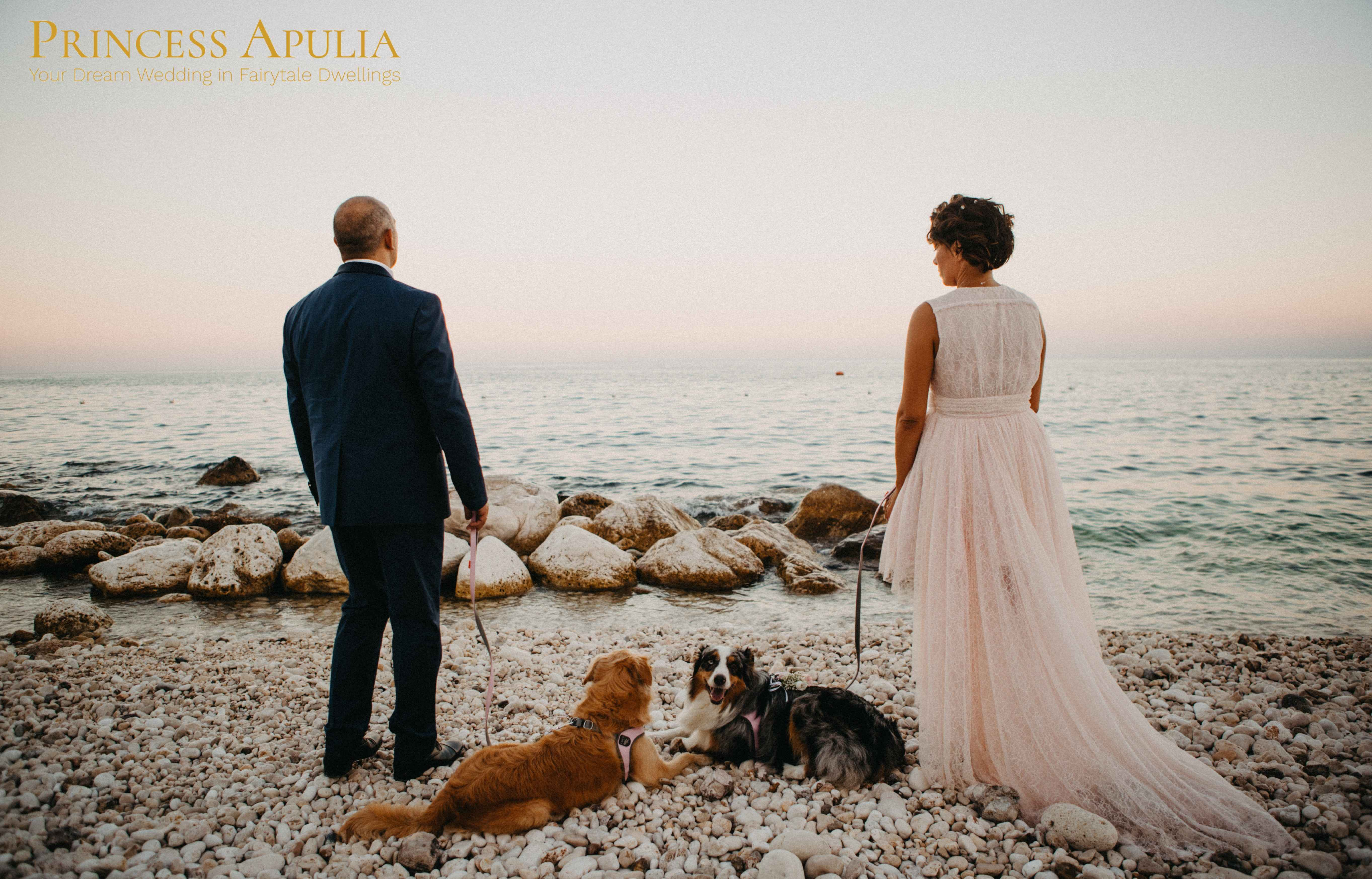 puglia beach wedding