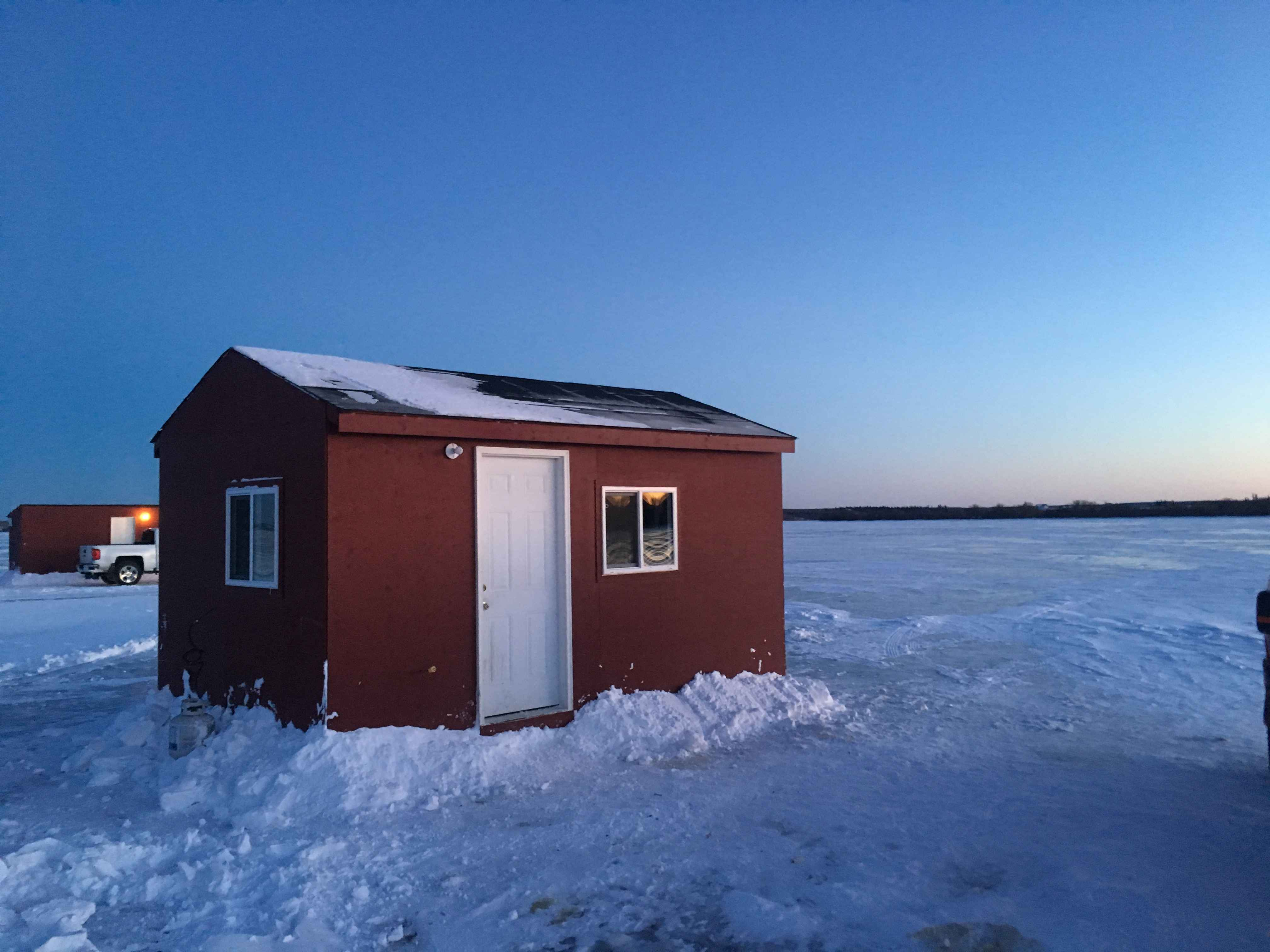 Lakeland Expeditions Rentals Overnight Ice Fishing Cabins