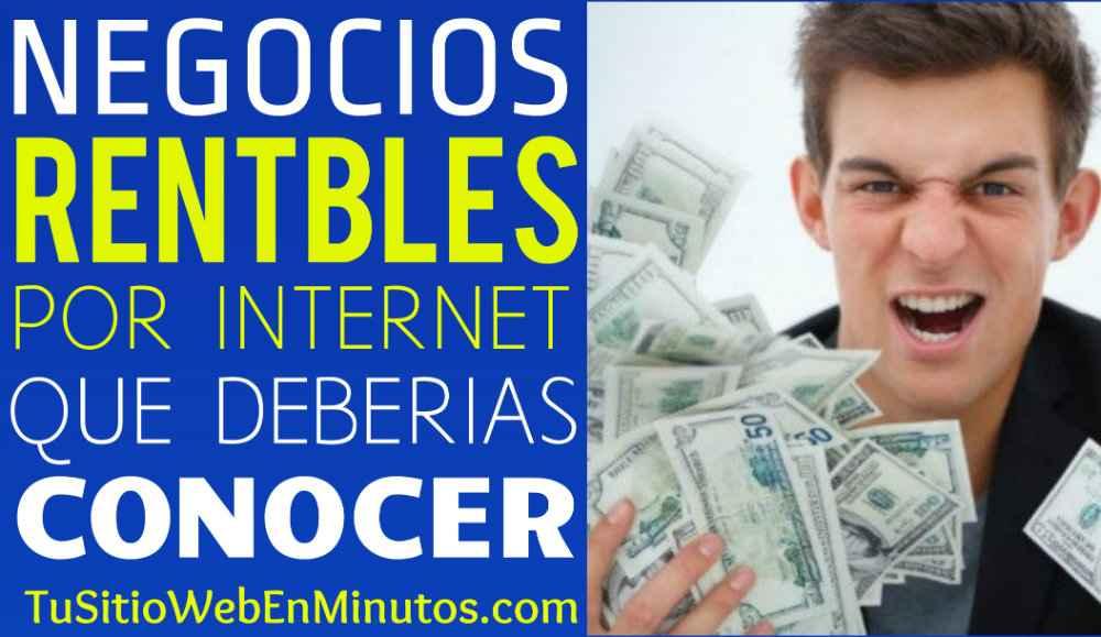5 Negocios Por Internet Rentables A Largo Plazo
