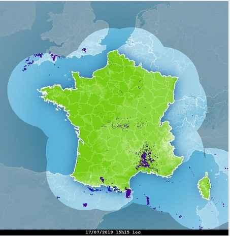 image radar m�t�o france