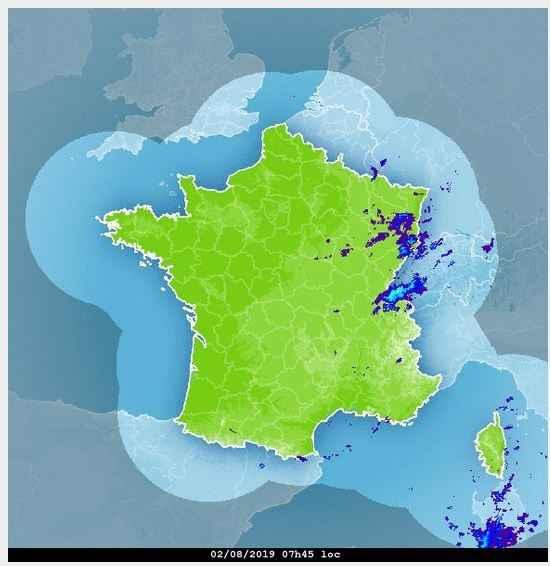 image radar aide pr�vision meteo