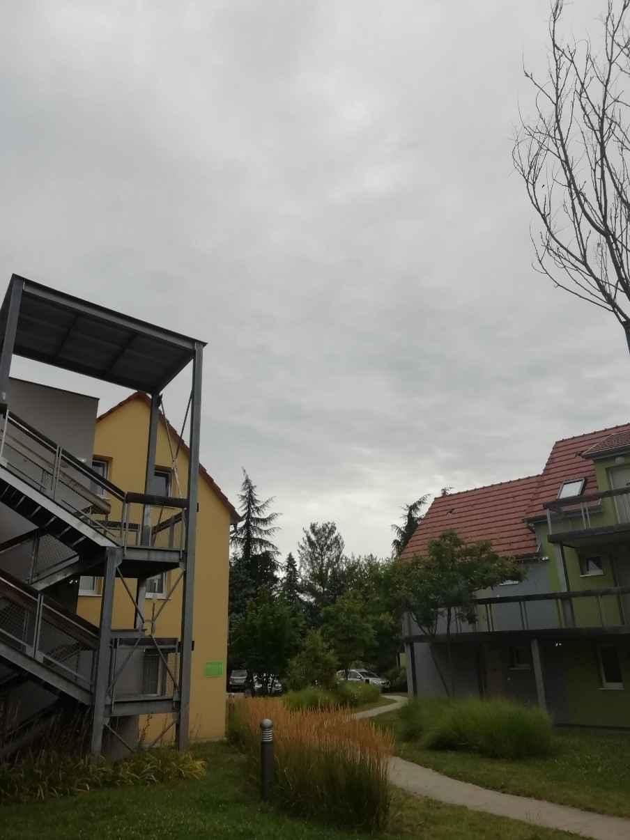 ciel nuageux � Colmar observation meteo