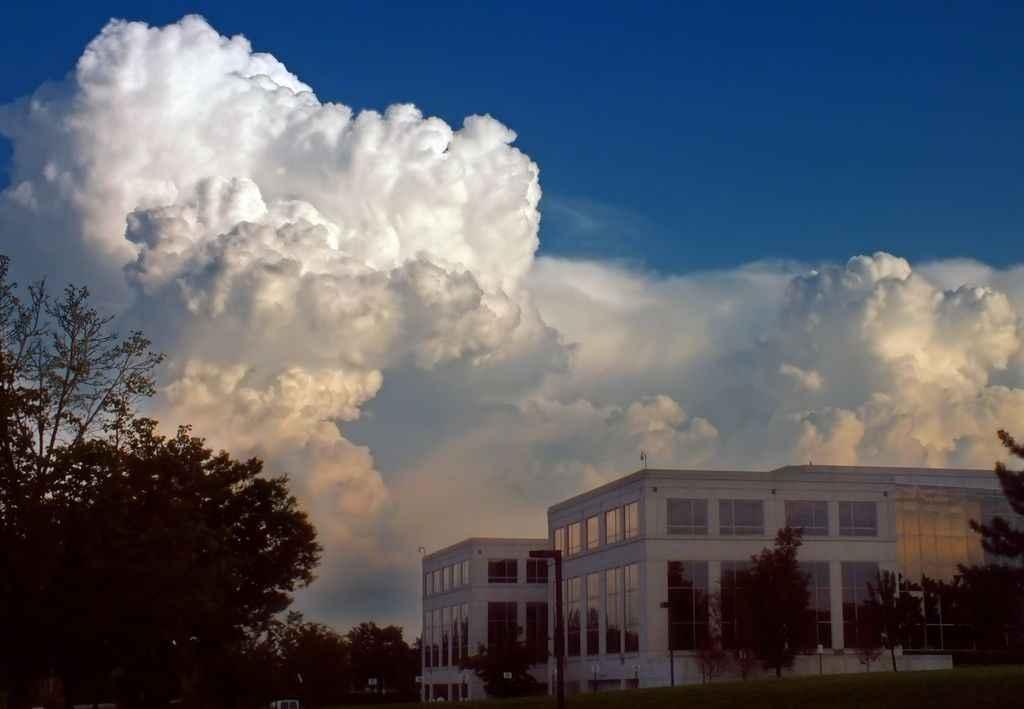 cumulus congestus  hauteur importante averse pluie