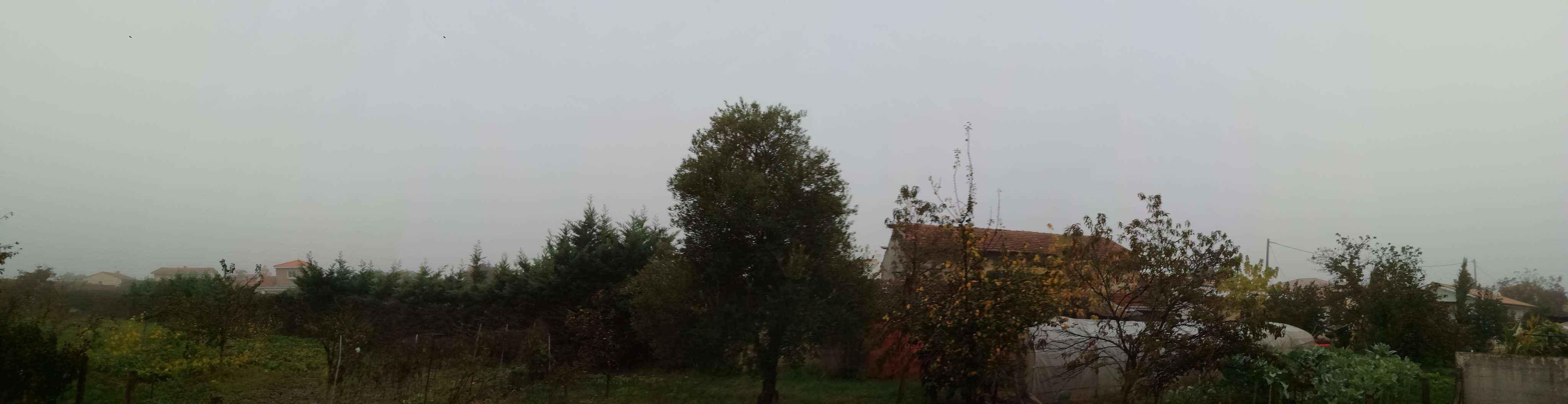 brouillard visibilit� nuages