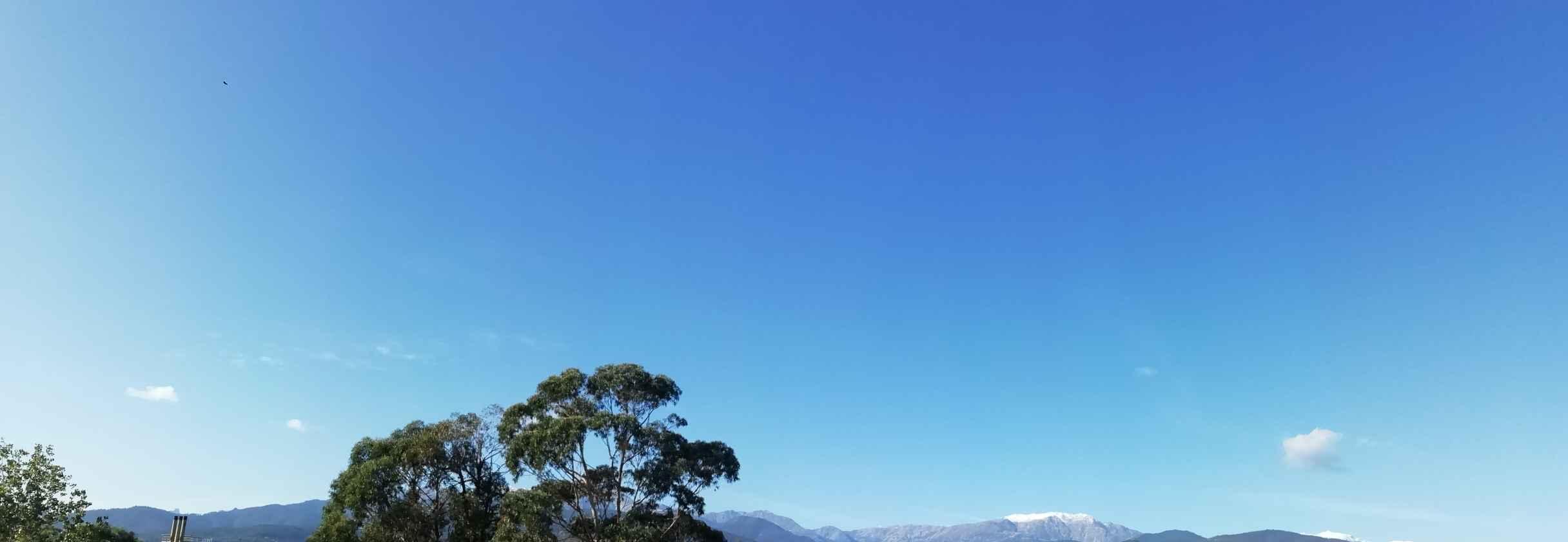 m�t�o ciel bleu avant front froid perturbation