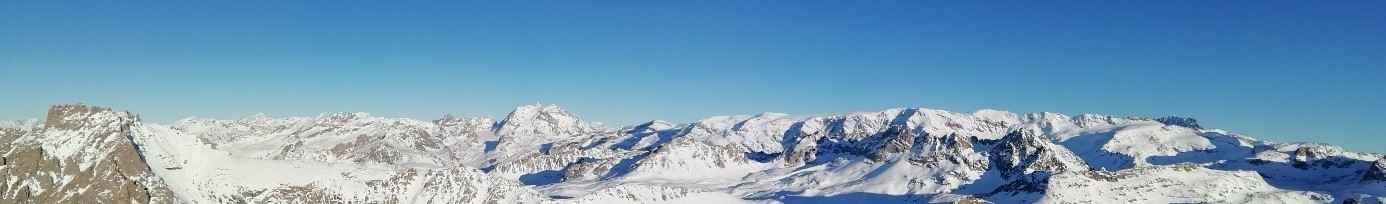 conditions anticycloniques sur les alpes du nord