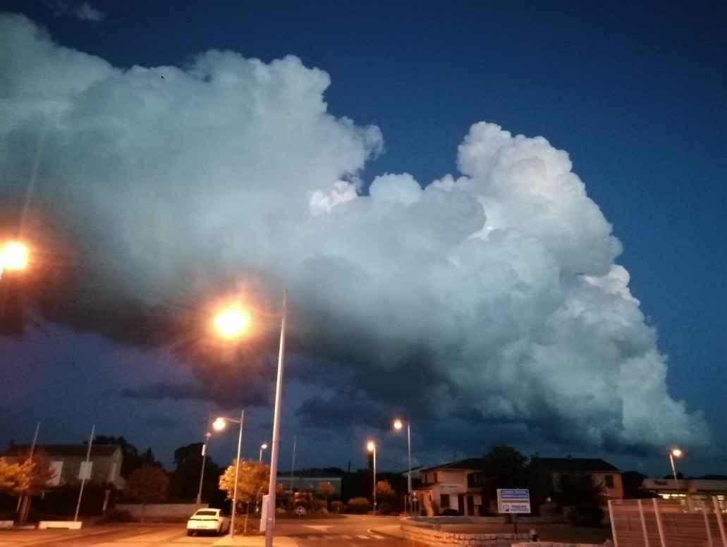 nuages de mauvais temps